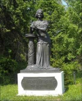 Памятник с ангелом Угрешская Мемориальный комплекс с крестом Кулебаки