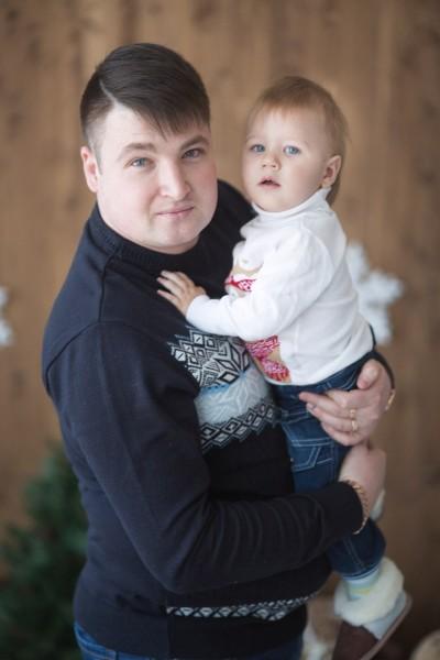 С сыночком Даниилом!!!