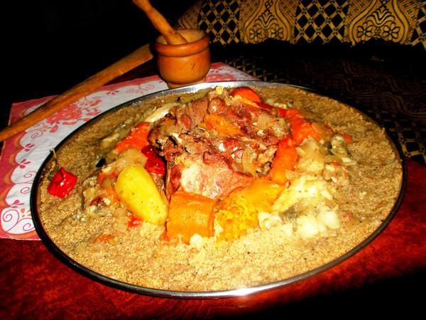 Мавританский кус-кус
